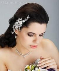 Beach Wedding Hair Accessories Mint Gold Silver Starfish