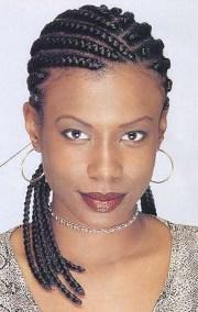 black cornrow braid hairstyles