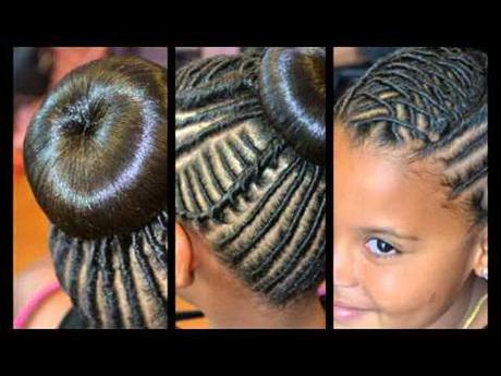 Black kid hairstyles for girls