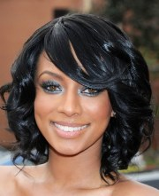 black prom hairstyles long