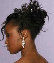 black updo hairstyles weddings