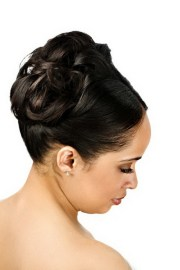 black wedding hairstyles updos