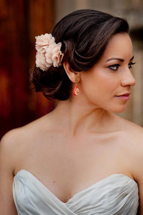 Bridal chignon hairstyles