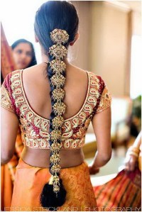 Bridal hairstyles indian wedding
