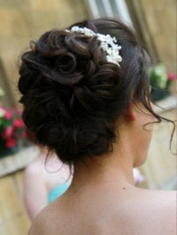 wedding hair cambridge brides hair up