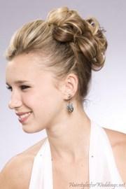 bridesmaid hairstyles medium