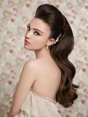 bump hairstyles long hair