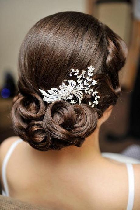 Chignon wedding hair