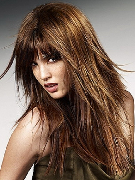 30 Long Choppy Hairstyles With Bangs Hairstyles Ideas Walk The
