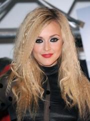 clubbing hairstyles long hair