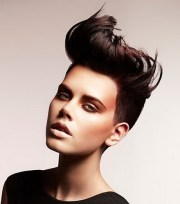 crazy short hairstyles women