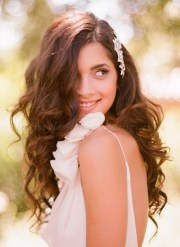 curly hairstyles brides