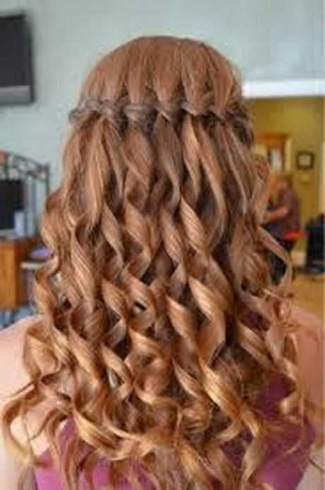 Cute Hairstyles For Straight Hair Curly Hairstyles For Graduation