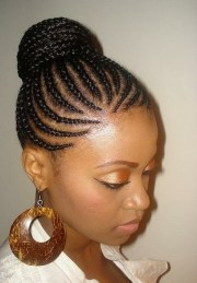 cute black braided hairstyles