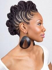 cute braided hairstyles african
