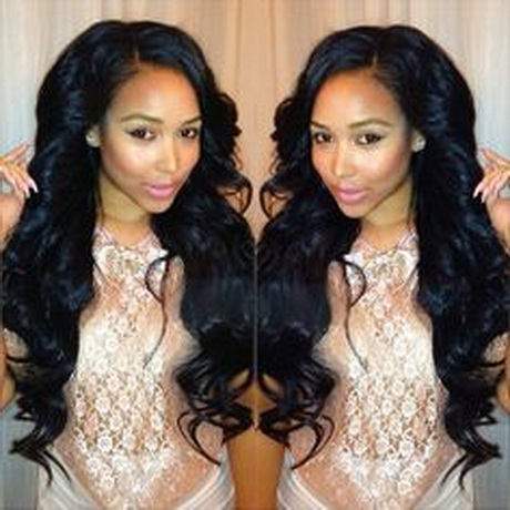 cute curly weave hairstyles
