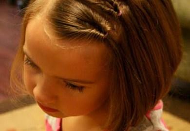Hairstyles For Little Girls Short Hair