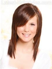 cute hairstyles long thin hair