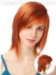 cute layered haircuts medium