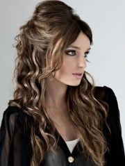 cute party hairstyles long