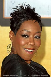 cute short haircuts black women