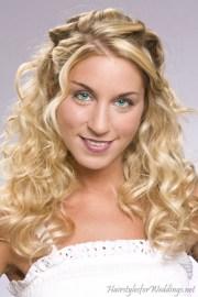 curly hairstyles weddings
