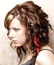 easy curly hairstyles school