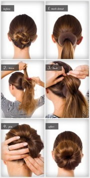 easy hairstyles long hair step