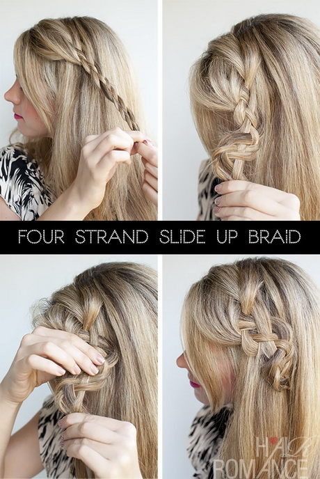 30 Quick Easy Hairstyles Step By Step Braids Hairstyles Ideas