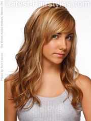 easy hairstyles long wavy hair