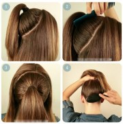 easy school hairstyles long