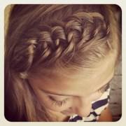 easy school hairstyles long