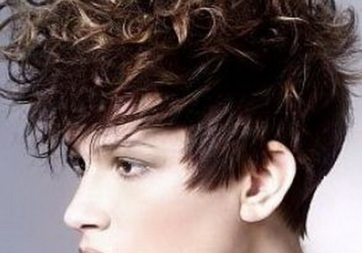 Edgy Curly Haircuts