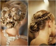 elegant updos wedding