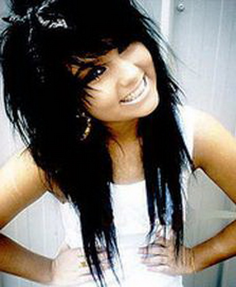 30 Cute Emo Hairstyles For Long Hair Hairstyles Ideas Walk The