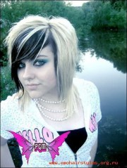 emo short hairstyles girls