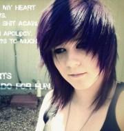 emo short hairstyles girls
