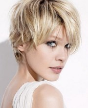 feathered hairstyles short