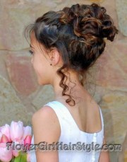 flower girl hairstyles long