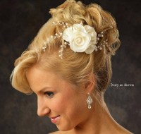 Flower wedding hair accessories