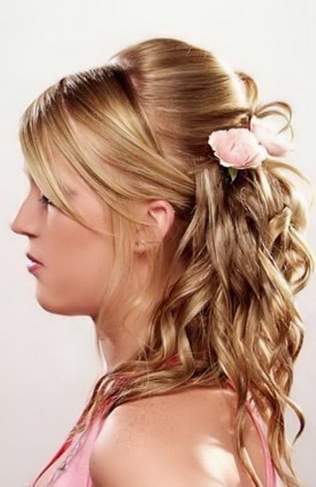 Hairstyles for long hair tied up