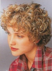 hairstyles short curly frizzy