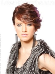 hairstyles short curly thick