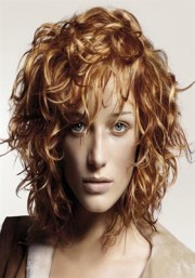 hairstyles thick curly frizzy