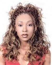 Human hair braids hairstyles