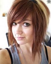 layered line haircut