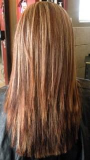 layered haircut view