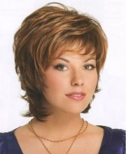 layered hairstyles women over