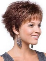 layered short hairstyles older