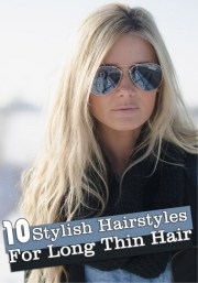 long hairstyles thin hair